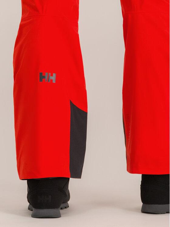 Helly Hansen Helly Hansen Spodnie narciarskie Lifaloft Hooded Insulator 65704 Czerwony Regular Fit