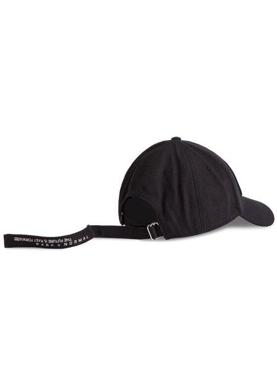 Diesel Diesel Kepurė su snapeliu C-Bully Hat 00SPNU 0WAMR 900 Juoda