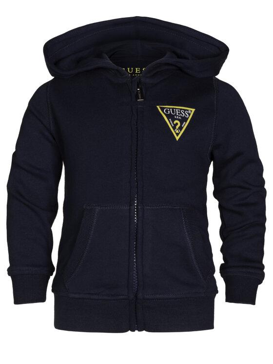 Guess Guess Sweatshirt N81Q20 K5WK0 Bleu marine Regular Fit