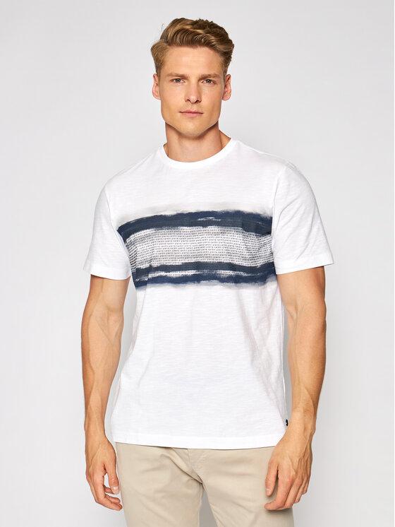 Pierre Cardin Marškinėliai 52630/000/11273 Balta Regular Fit