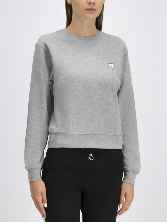 Guess Guess Mikina Basic W94Q29 K8RS0 Sivá Regular Fit