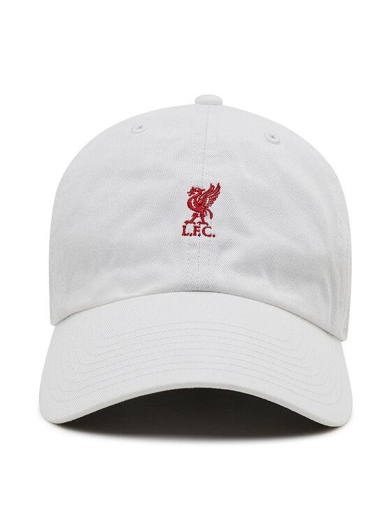 47 Brand 47 Brand Czapka z daszkiem Premier League Liverpool F.C. EPL-BSRNR04GWS-WH Biały