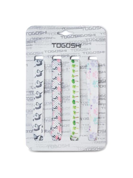 Togoshi Batų raištelių komplektas TG-LACES-120-4 Balta