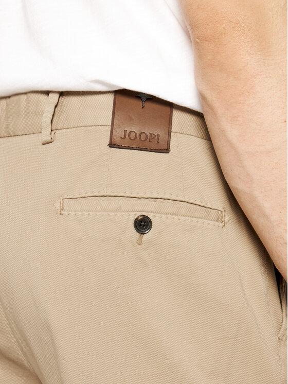 Joop! Joop! Szorty materiałowe 30015611 Beżowy Regular Fit