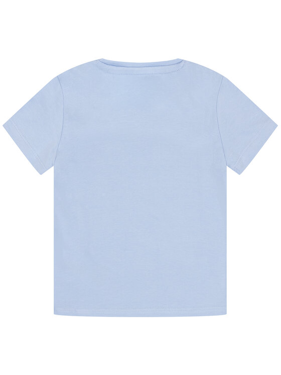 Guess Guess T-Shirt K01I14 K82K0 Niebieski Regular Fit