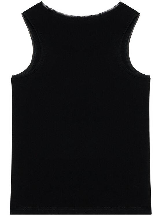 DKNY DKNY Top D35R21 D Czarny Regular Fit
