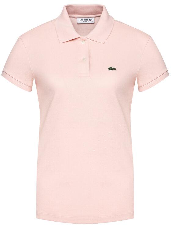 Lacoste Lacoste Polo PF7839 Różowy Regular Fit