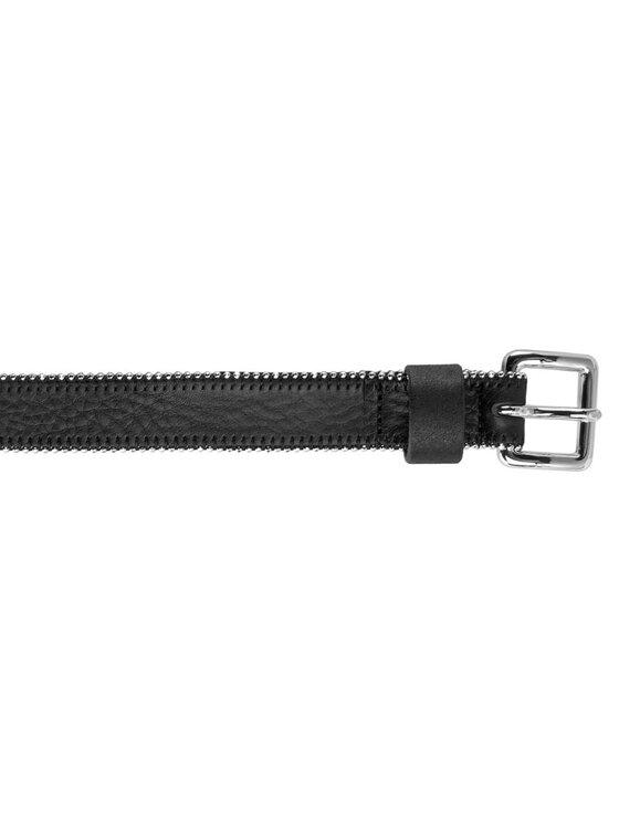 Tommy Hilfiger Tommy Hilfiger Curea de Damă Zipper Belt 2.5 AW0AW03807 80 Negru