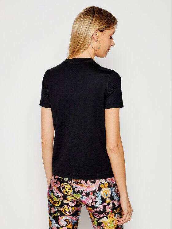 Versace Jeans Couture Versace Jeans Couture Póló B2HWA7KA Fekete Regular Fit