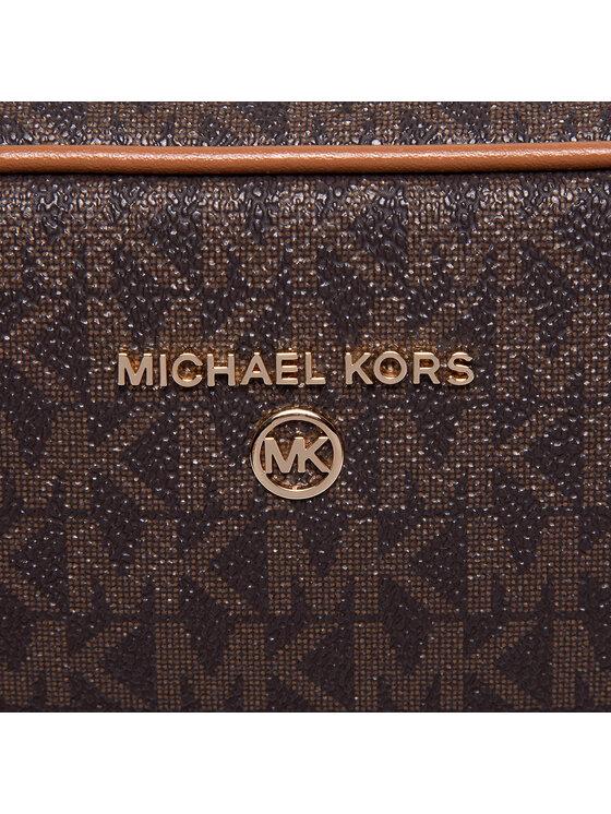 MICHAEL Michael Kors MICHAEL Michael Kors Kosmetyczka Jet Set Charm 32S1GT9T3B Brązowy