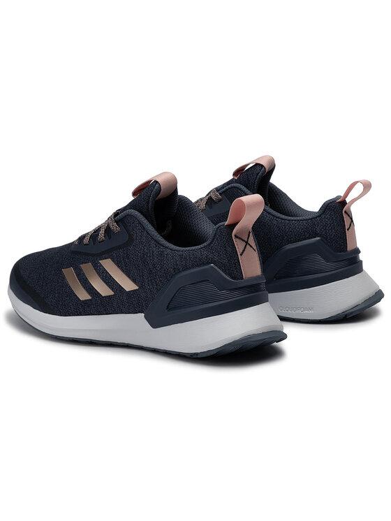 adidas adidas Buty RapidaRun X J G27446 Granatowy