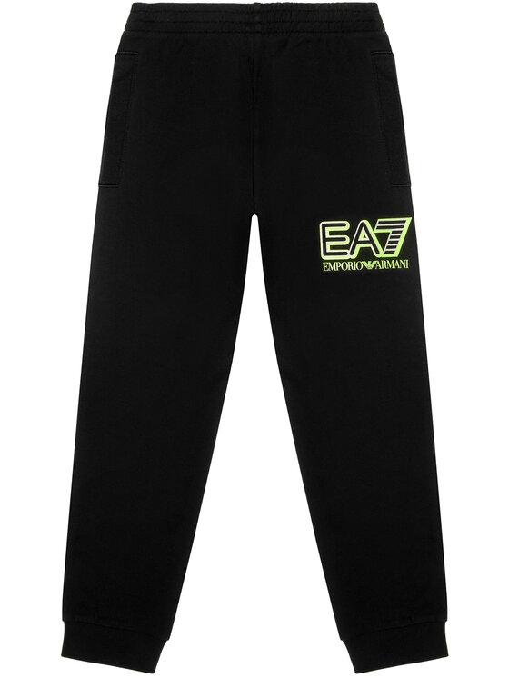EA7 Emporio Armani EA7 Emporio Armani Spodnie dresowe 6HBP52 BJ05Z 1200 Czarny Regular Fit