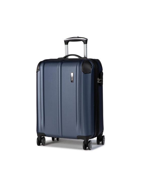 Travelite Mažas Kietas Lagaminas City 73044-20 Tamsiai mėlyna