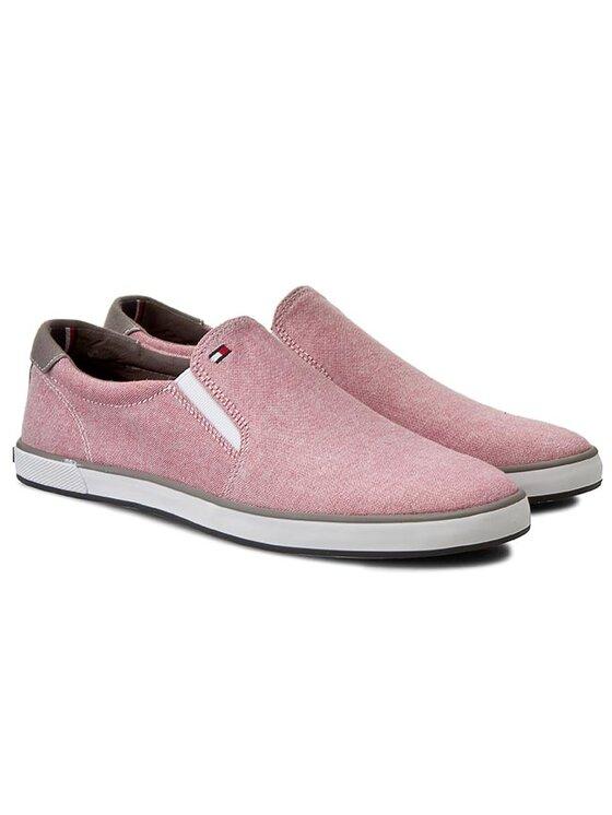 Tommy Hilfiger Tommy Hilfiger Πάνινα παπούτσια Harlow 2E FM56820908 Κόκκινο