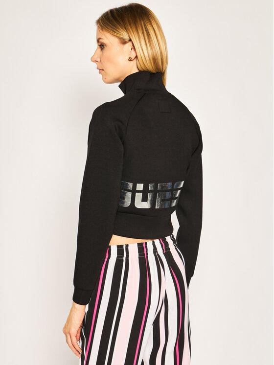 Guess Guess Sweatshirt O02Q01 K7UW0 Schwarz Regular Fit