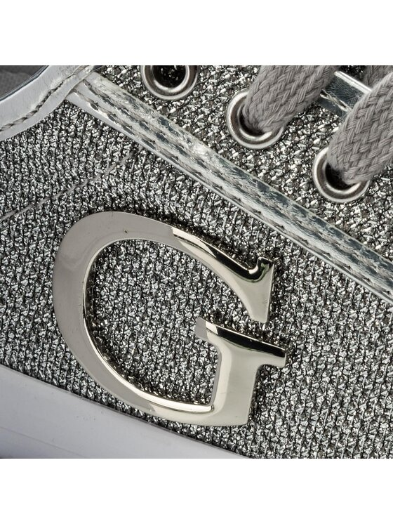 Guess Guess Гуменки Elly FLLLY1 FAM12 Сребрист