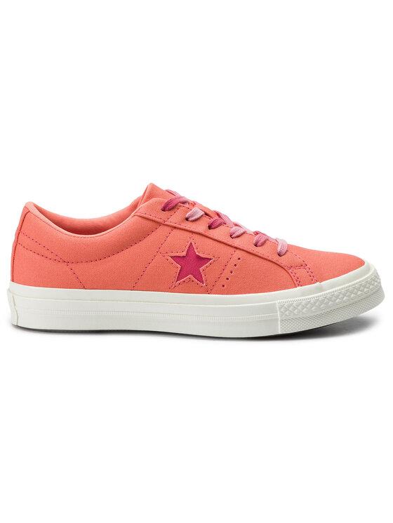 Converse Converse Tenisky One Star Ox 564152C Oranžová
