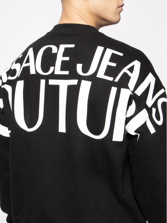 Versace Jeans Couture Versace Jeans Couture Mikina B7GVA733 Čierna Regular Fit