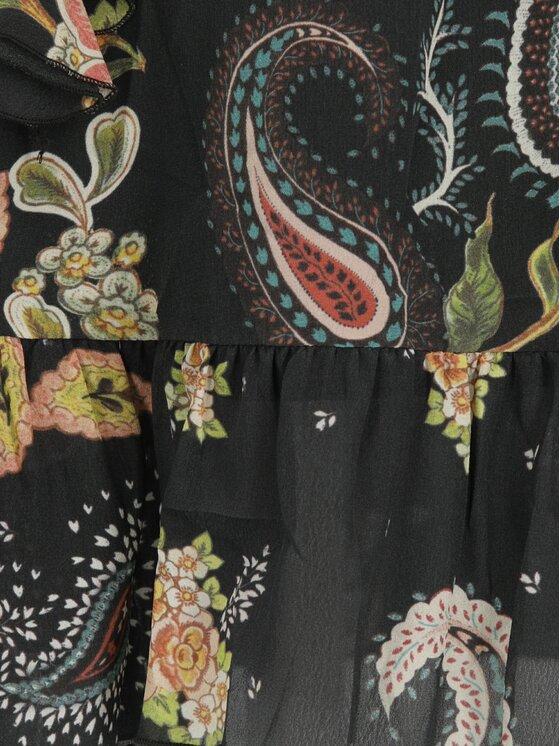 Liu Jo Liu Jo Sukienka codzienna F19360 T2269 Czarny Regular Fit