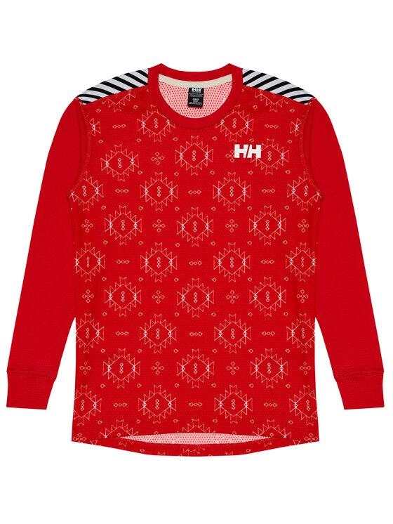 Helly Hansen Helly Hansen Komplet bielizny termoaktywnej JR Lifa Active Set 48647 Czerwony Regular Fit