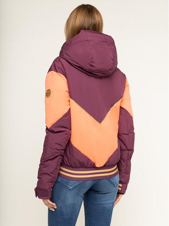 Roxy Roxy Snowboardová bunda Taorah Bright Summit ERJTJ03216 Fialová Regular Fit