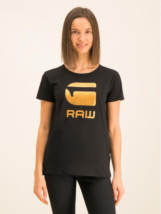 G-Star Raw G-Star Raw T-shirt Lyon Jersey D15750-4107-6484 Noir Regular Fit