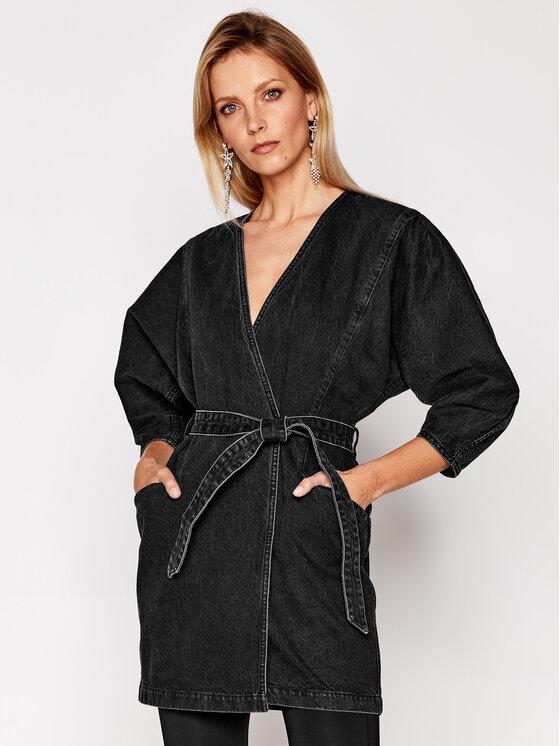 IRO Džinsinė suknelė Fairline WP33 Juoda Regular Fit