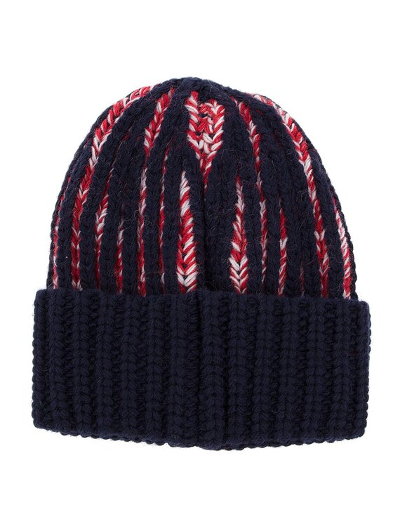 Tommy Jeans Tommy Jeans Σκούφος Tjw Heavy Knit Beani AW0AW05988 Σκούρο μπλε