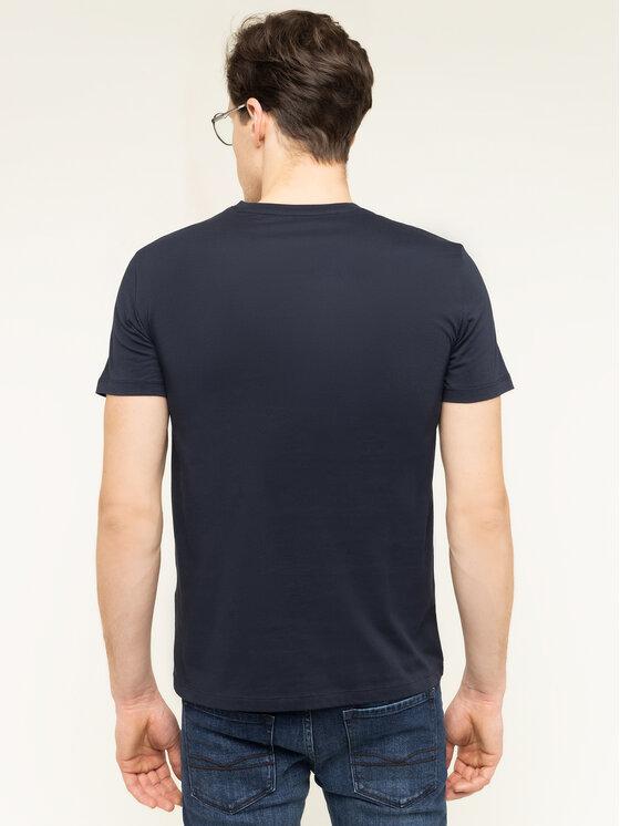 Armani Exchange Armani Exchange T-Shirt 3HZTFU ZJBVZ 1510 Granatowy Slim Fit