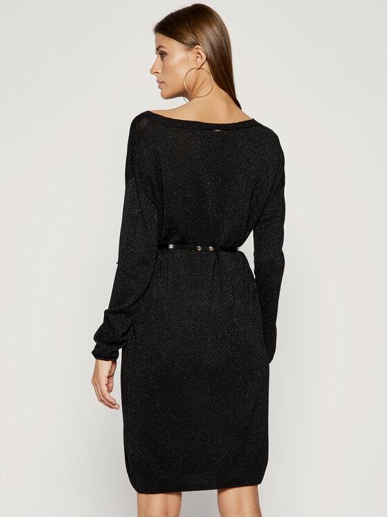 Liu Jo Liu Jo Φόρεμα υφασμάτινο C69265 MA32H Μαύρο Regular Fit