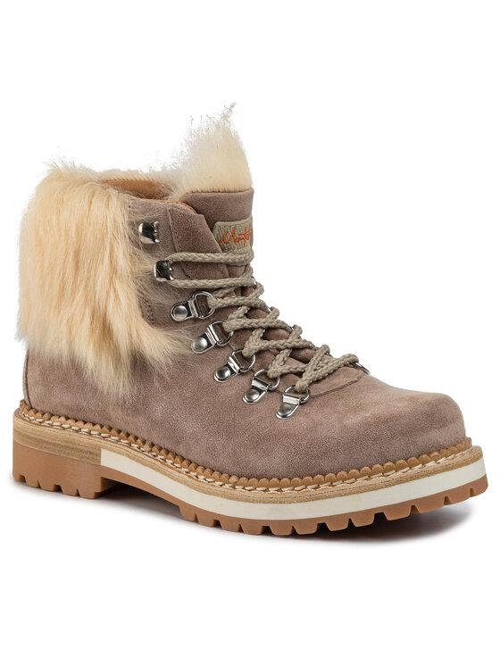 Montelliana Žygio batai Clara MNTL4 Smėlio