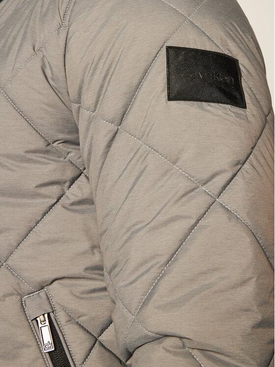 Calvin Klein Calvin Klein Geacă bomber Qualited K10K105606 Gri Regular Fit