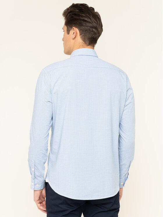 Marc O'Polo Marc O'Polo Hemd 020 7451 42188 Blau Regular Fit