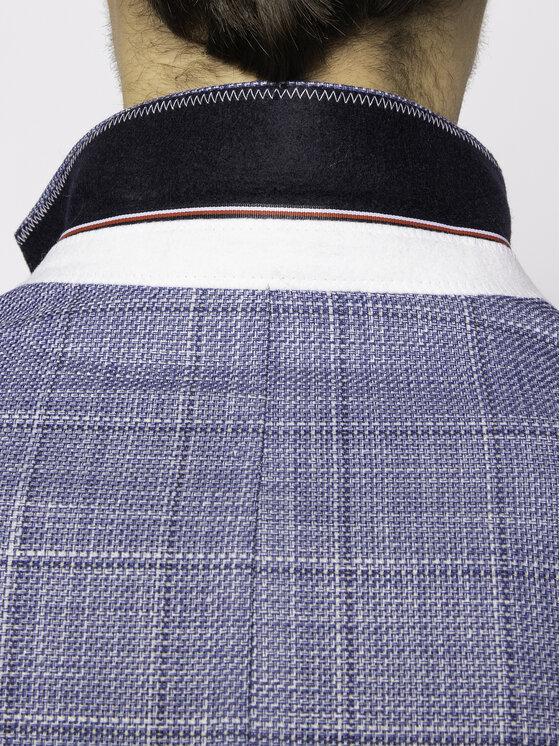 Tommy Hilfiger Tailored Tommy Hilfiger Tailored Сако Soft Constructed Check TT0TT07222 Син Slim Fit