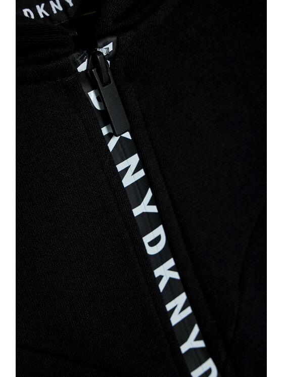 DKNY DKNY Bluza D35Q98 S Czarny Regular Fit