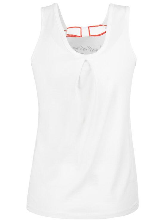 Primigi Primigi Top Canotta Jersey 43232571 Biały Regular Fit