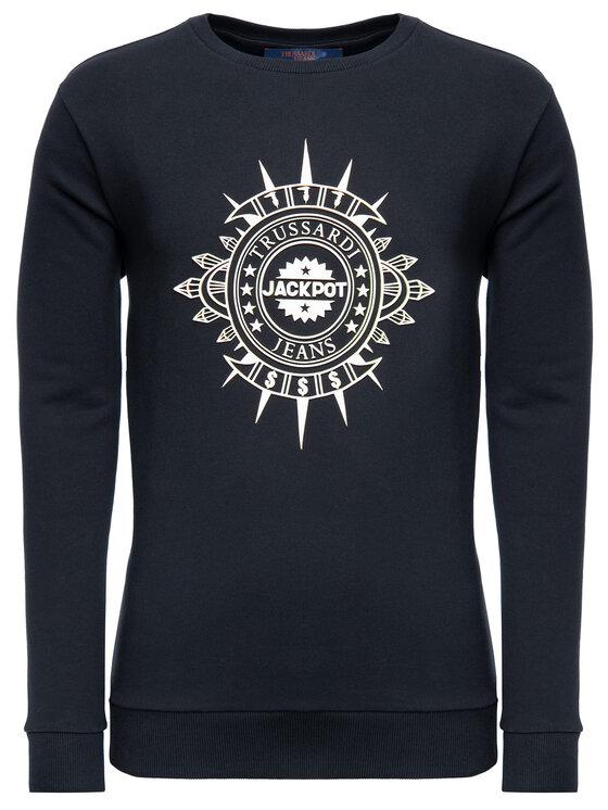 Trussardi Trussardi Sweatshirt 52F00076 Noir Regular Fit