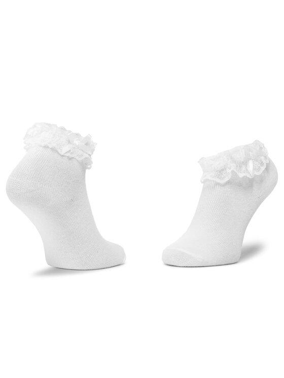Mayoral Mayoral Sada 2 párů dětských vysokých ponožek 10738 Červená