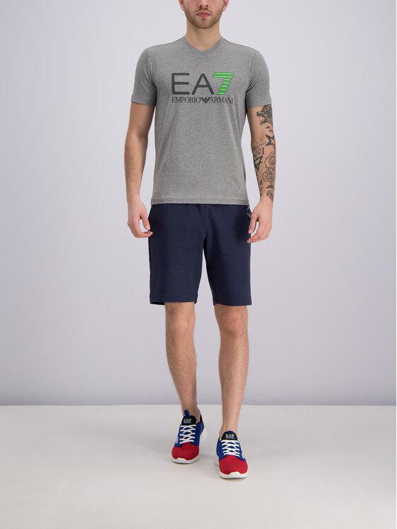 EA7 Emporio Armani EA7 Emporio Armani T-Shirt 3GPT02 PJ03Z 3905 Šedá Slim Fit
