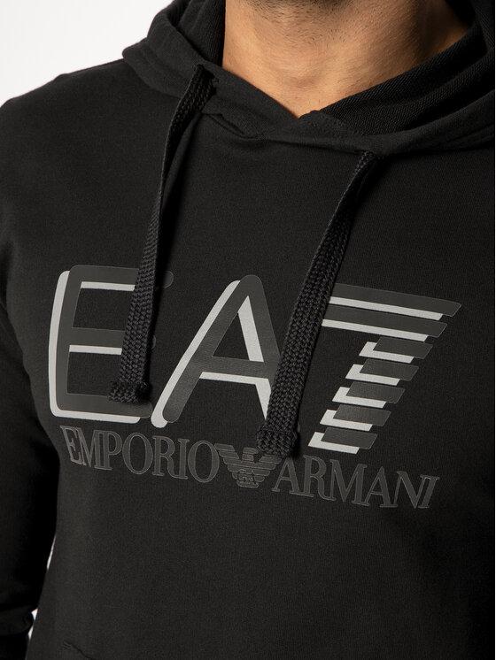 EA7 Emporio Armani EA7 Emporio Armani Džemperis 3HPM62 PJ05Z 1200 Juoda Regular Fit