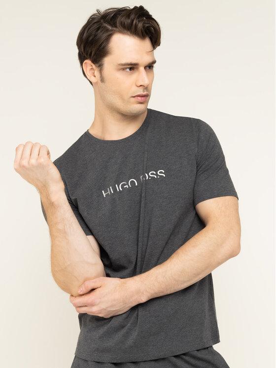 Boss Boss T-shirt Identity 50420159 Grigio Regular Fit