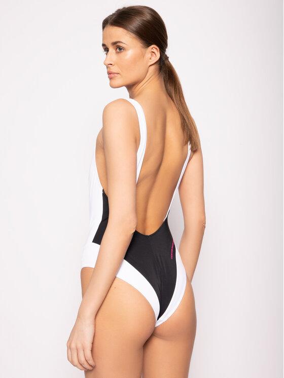 Calvin Klein Swimwear Calvin Klein Swimwear Strój kąpielowy Plunge Back One Piece KW0KW00976 Kolorowy