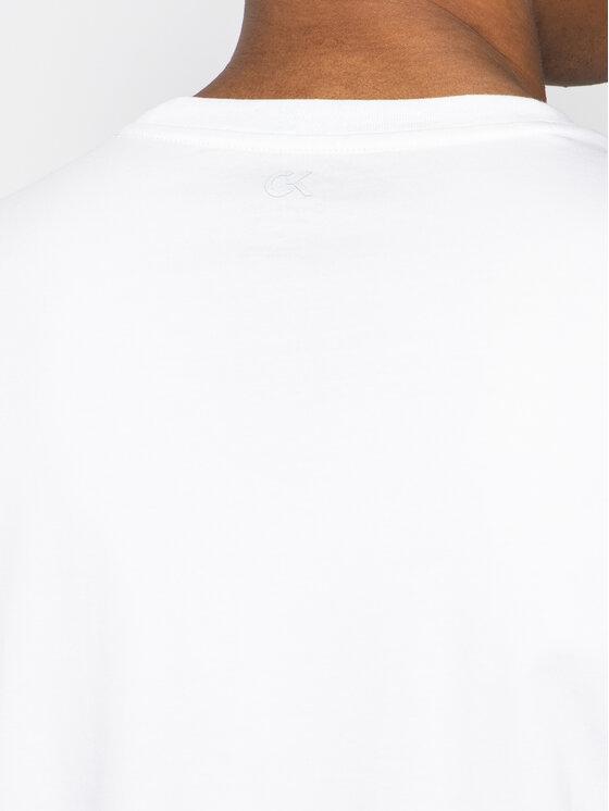 Calvin Klein Performance Calvin Klein Performance T-Shirt Ss Tee Logo 00GMF8K160 Biały Regular Fit