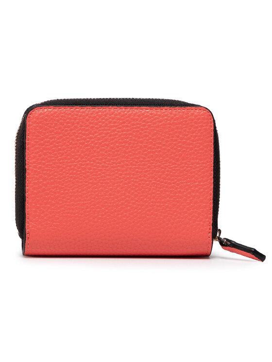 Calvin Klein Calvin Klein Mały Portfel Damski Sided Ziparound Md W Flap K60K606360 Czerwony