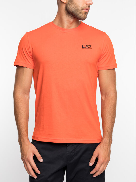 EA7 Emporio Armani EA7 Emporio Armani T-Shirt 3GPT51 PJM9Z 1683 Πορτοκαλί Regular Fit