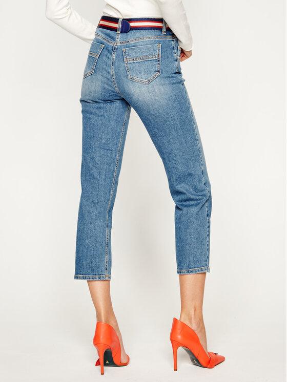 Elisabetta Franchi Elisabetta Franchi jeansy_skinny_fit PJ-55D-01E2-V329 Mėlyna Skinny Fit