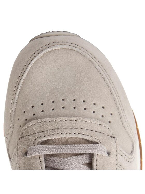 Reebok Reebok Обувки Cl Leather Sg BS7893 Бежов