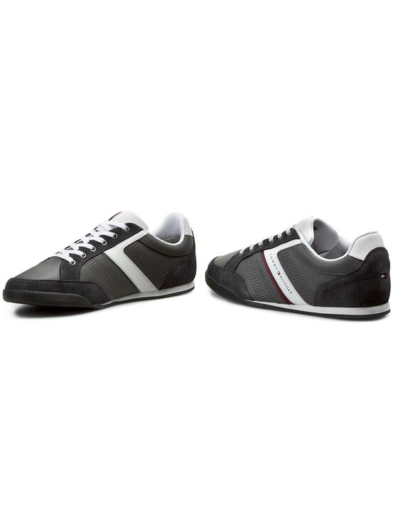 Tommy Hilfiger Tommy Hilfiger Sneakersy Riley 1C FM56818999 Šedá