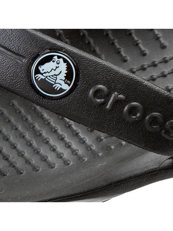 Crocs Crocs Zehentrenner Crocband-x Flip 15103 Schwarz