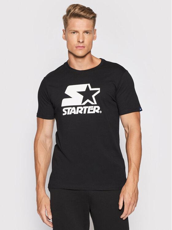 Starter Marškinėliai SMG-008-BD Juoda Regular Fit